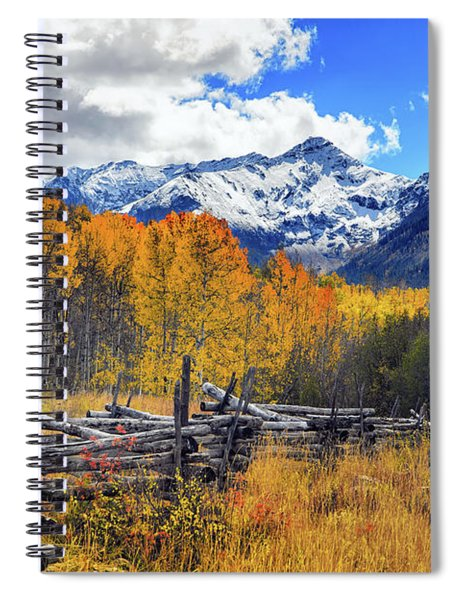 High County Ablaze Spiral Notebook