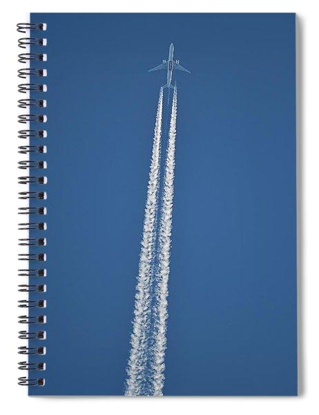 High Flight -- Emirates Air Boeing 777 Spiral Notebook