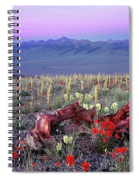 High Mountain Sunrise Spiral Notebook