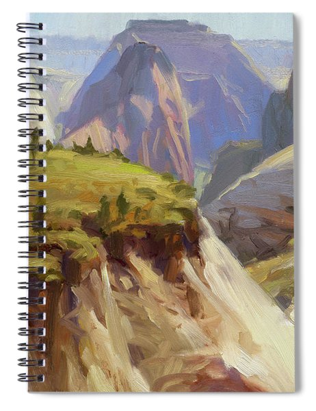 High On Zion Spiral Notebook