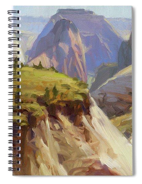 High On Zion Spiral Notebook by Steve Henderson