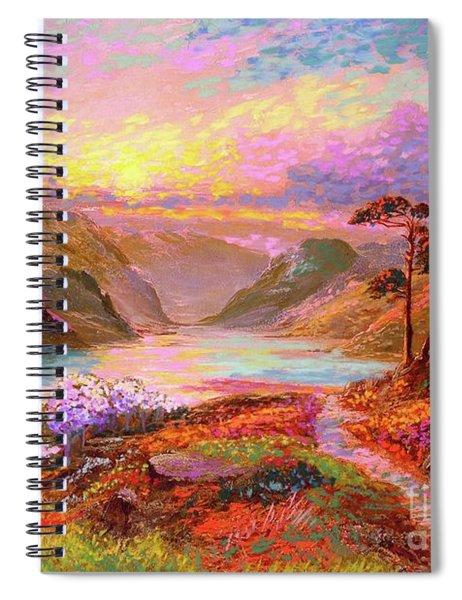 Highland Lake Spiral Notebook