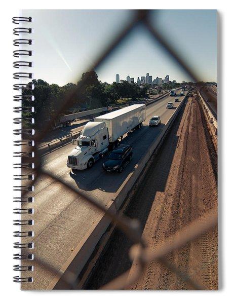 Highway Capture Spiral Notebook