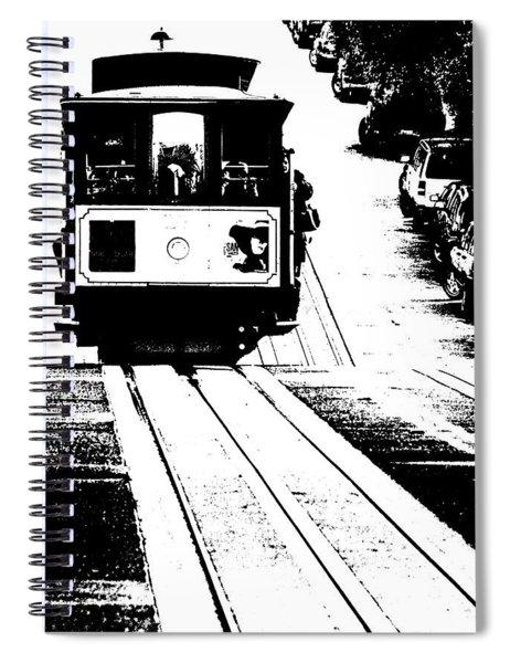 Hill Street Noir Spiral Notebook