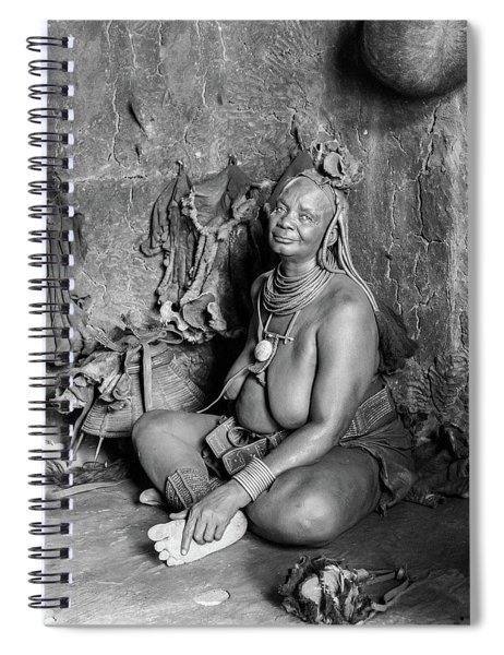 Himba Grand Mother Spiral Notebook