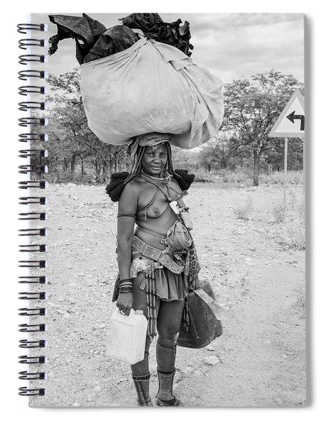 Himba Woman 3 Spiral Notebook
