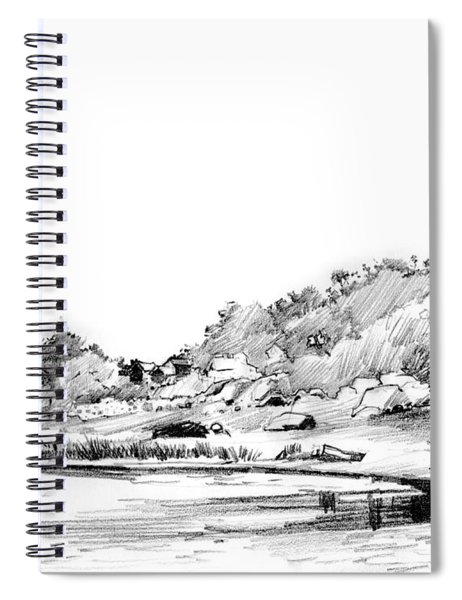 Hingham Bay  Spiral Notebook