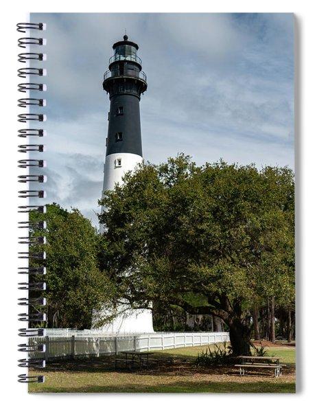 Hinting Light 2 Spiral Notebook