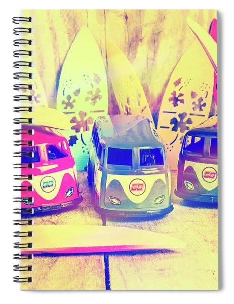 Hippie Holidays Spiral Notebook