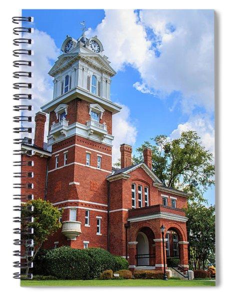 Historic Gwinnett County Courthouse Spiral Notebook by Doug Camara