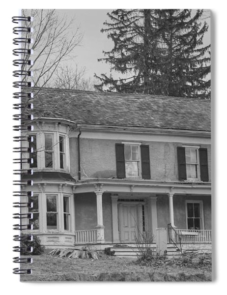 Historic Mansion With Towers - Waterloo Village Spiral Notebook