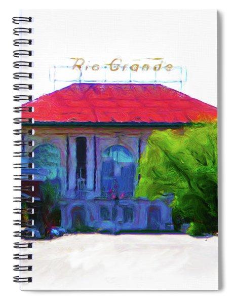 Historic Rio Grande Station Spiral Notebook