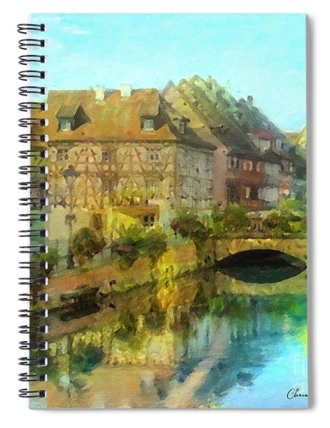 Historic Village On The Rhine Spiral Notebook