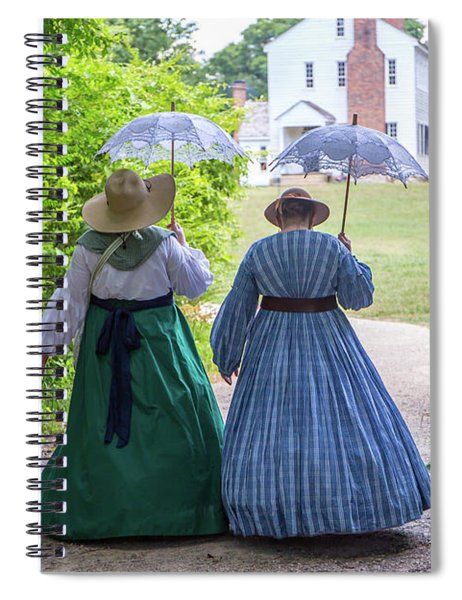 Historical Southern Snapshot Spiral Notebook
