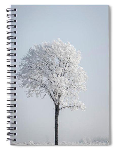 Hoar Frost At Bvg 2018-8 Spiral Notebook
