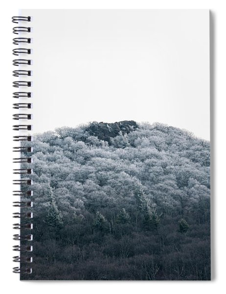 Hoarfrost On The Mountain Spiral Notebook