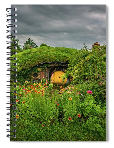 Hobbit Garden In Bloom Spiral Notebook