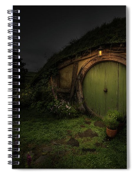 Hobbiton At Night #1 Spiral Notebook