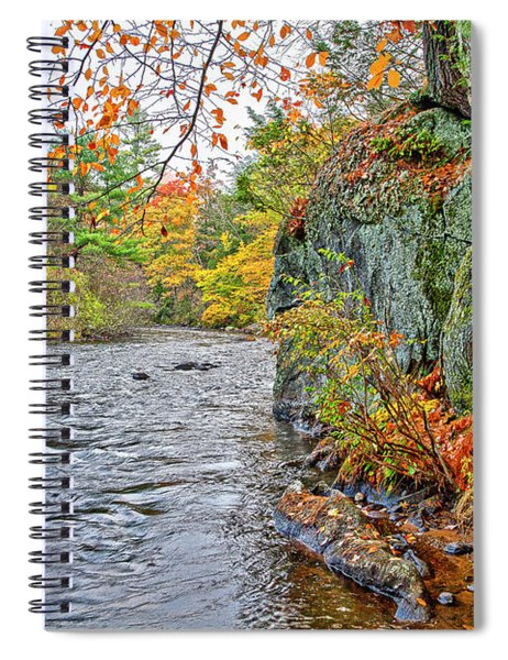Hogback Dam Pool Spiral Notebook