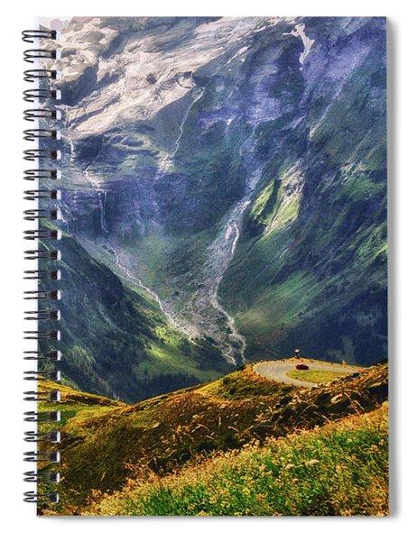 Hohe Tauern National Park Austria Spiral Notebook
