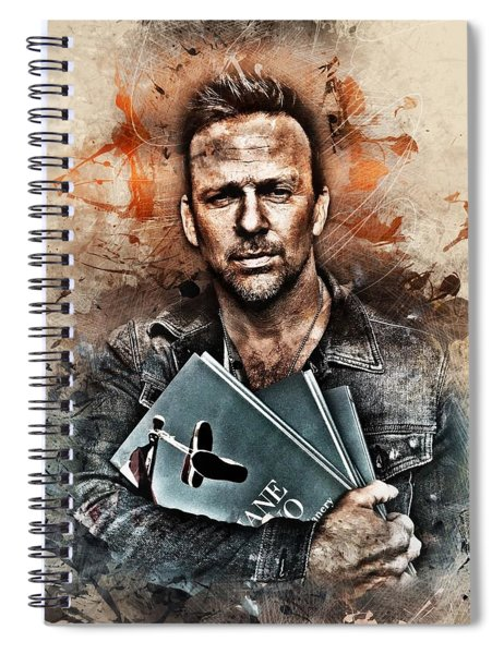 Holding Onto Jane Two Spiral Notebook