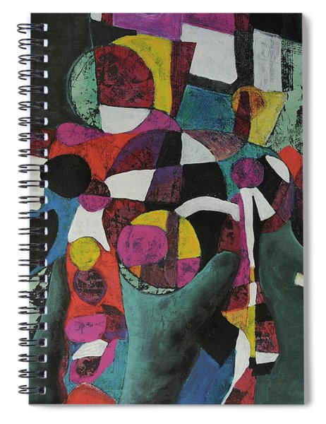 Holding Up The Equinox Spiral Notebook