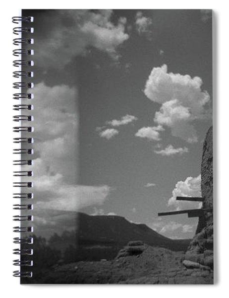 Holga Triptych 2 Spiral Notebook