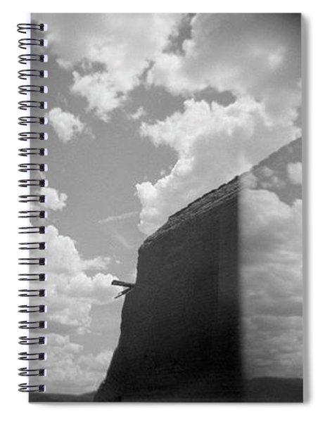 Holga Triptych 3 Spiral Notebook