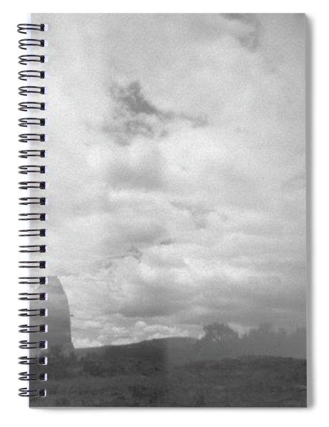 Holga Triptych 4 Spiral Notebook