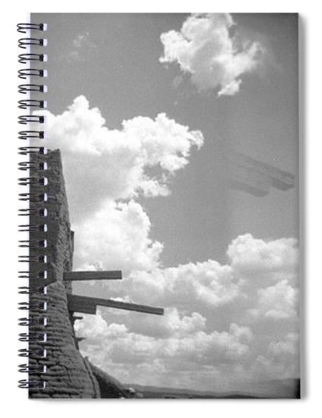 Holga Triptych 5 Spiral Notebook
