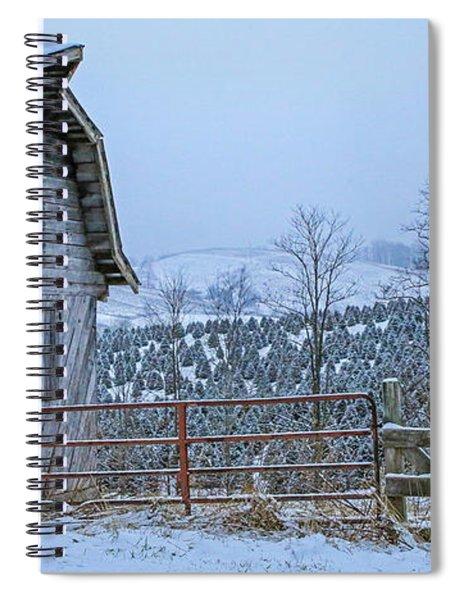 Holiday Farm Spiral Notebook