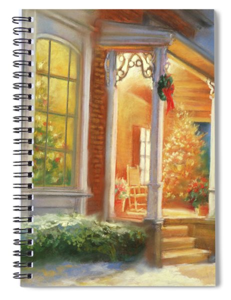 Holiday Welcome Spiral Notebook