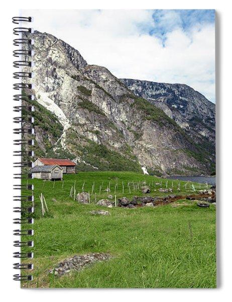 Holmaviki, Norway Spiral Notebook