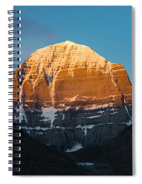 Holy Glow Spiral Notebook