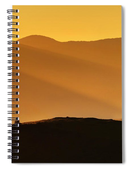 Holy Mountain Spiral Notebook