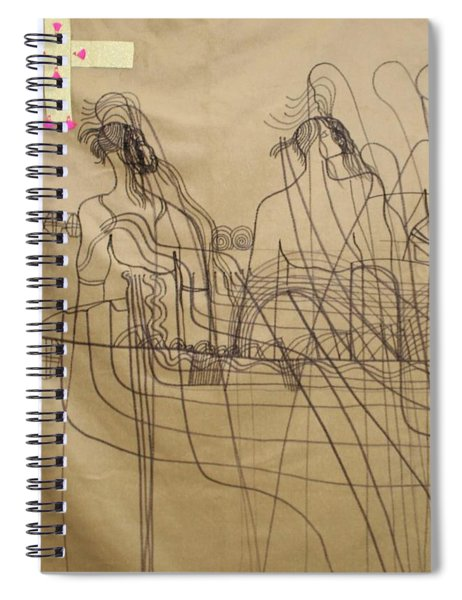 Holy Trinity And Our Lady Asia Spiral Notebook