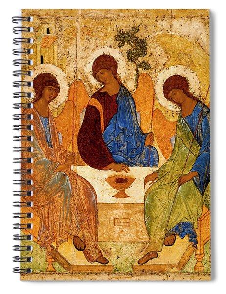 Holy Trinity Spiral Notebook