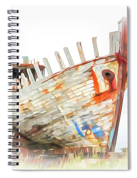 Home From The Sea Spiral Notebook