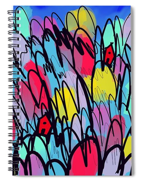Home Is Where Spiral Notebook