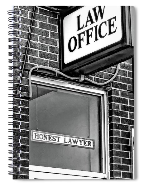 Honest Lawyer - Dream On... Bw Spiral Notebook