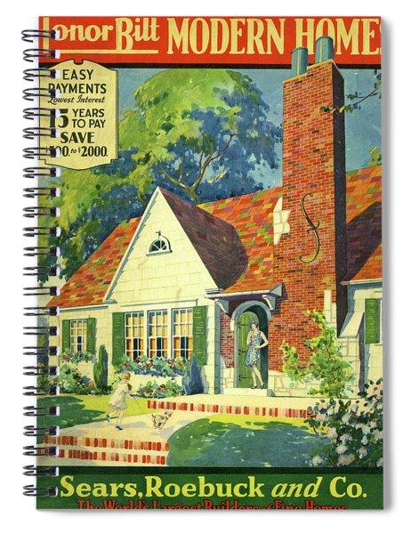 Honor Bilt Modern Homes Sears Roebuck And Co 1930 Spiral Notebook