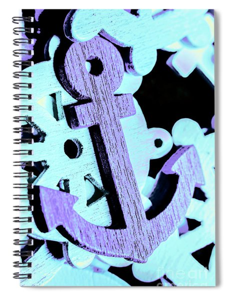 Hooked On Sea Travel Spiral Notebook