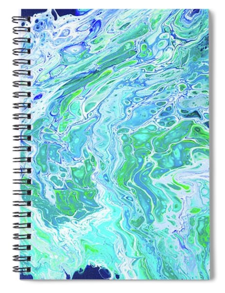 Spiral Notebook featuring the painting Ho'okipa Beach by Lisa Smith
