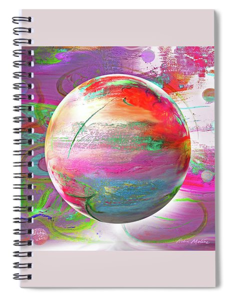 Hope On A Wave Spiral Notebook