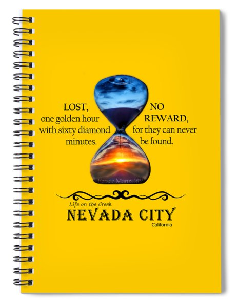 Horace Mann Quote Spiral Notebook
