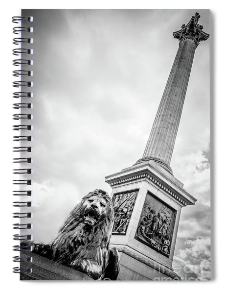 Horatio And The Lion Spiral Notebook
