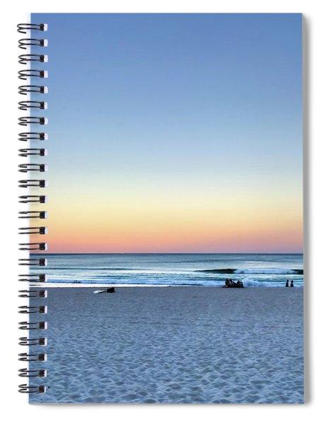 Horizon Over Water Spiral Notebook