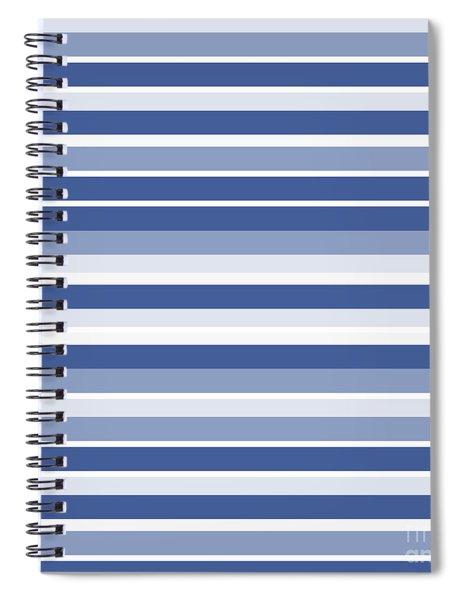 Horizontal Lines Background - Dde607 Spiral Notebook