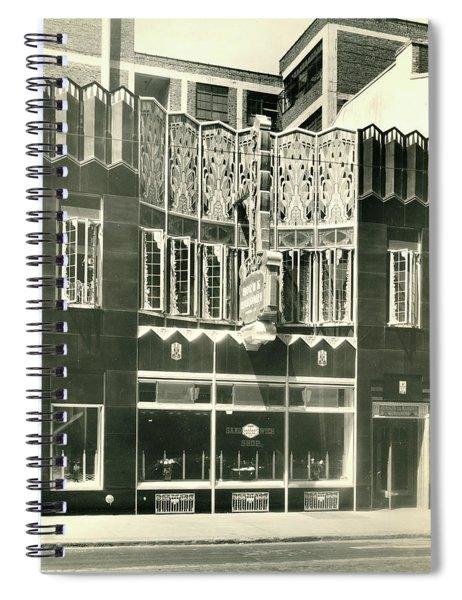 Horn And Hardart, S 18th St., Philadelphia Spiral Notebook