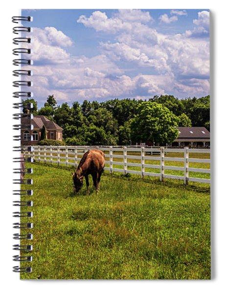 Horse Farm Spiral Notebook by Louis Dallara